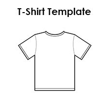 Ridiculous image inside printable t shirt template pdf