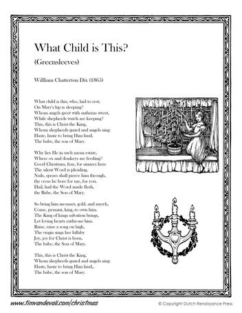 What Child Is This Lyrics