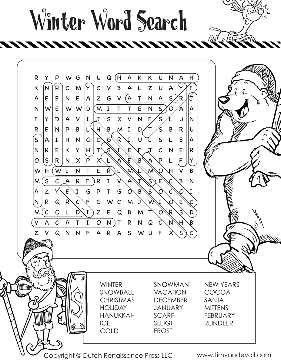 Winter-Word-Search_Winter-Word-Search-Black-and-White