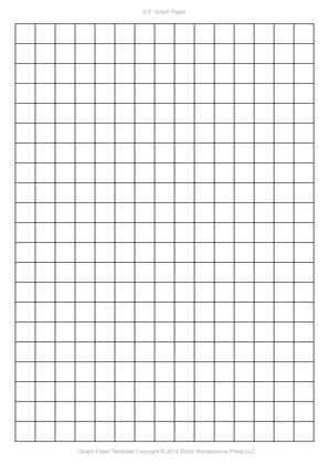 A4 Graph Paper Template PDF, 8.27x11.69 in, 210×297 mm