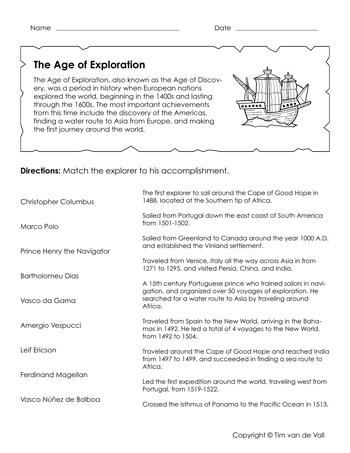 age-of-exploration-worksheet