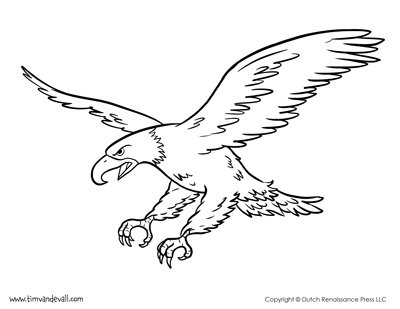 - Bald Eagle Coloring Page - Tim's Printables