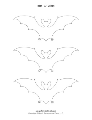 bat outline