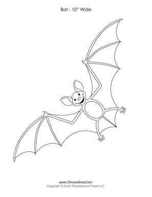 Halloween Bat Templates to Cut Out| Paper Bat Decorations