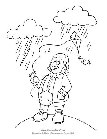 Ben Franklin Kite Activity Tim S Printables