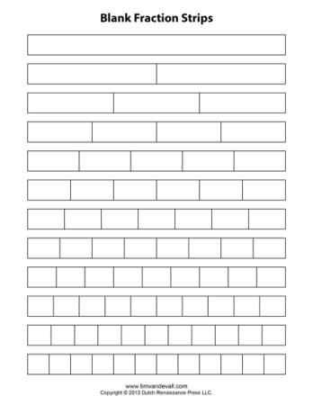 Shocking image inside fraction bars printable