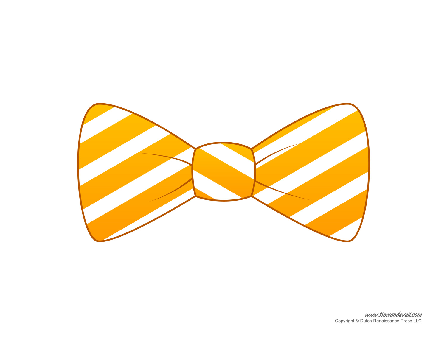 Bow Tie Printable Drawing Template