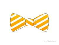 Paper Bow Tie Templates