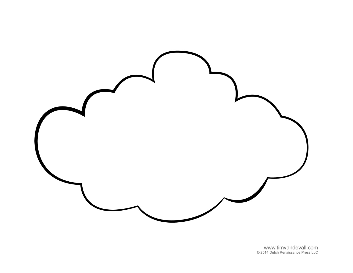 Free Coloring Pages Of Clouds, Download Free Clip Art, Free Clip ... | 1159x1500
