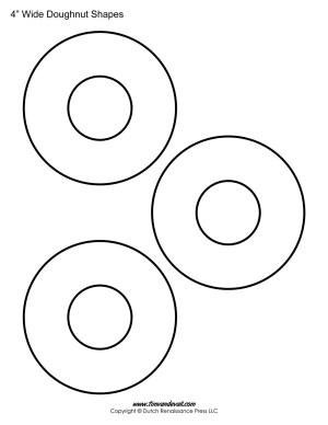 doughnut shapes