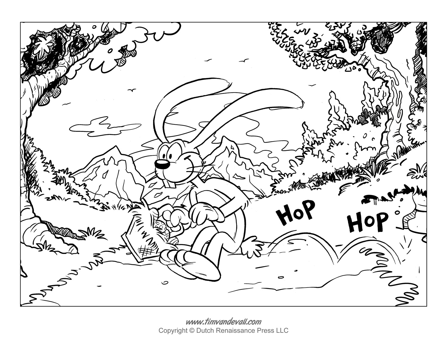 Free Easter Bunny Template Easter Bunny Clipart And Coloring Pages