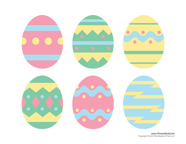 Easter Egg Printables