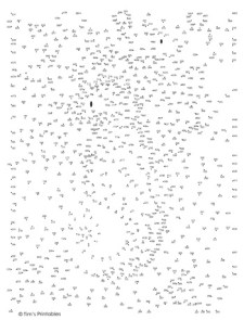 Sea Horse Dot-to-Dot