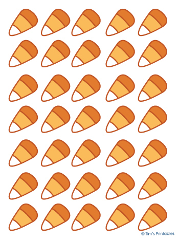 Candy Corn Templates