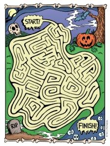 halloween-maze