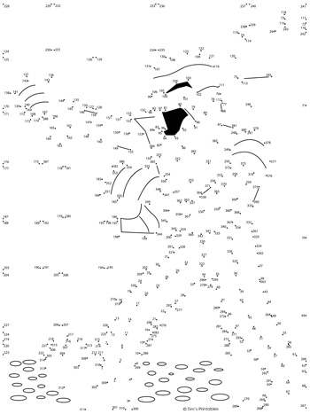 Mummy Dot-to-Dot PDF