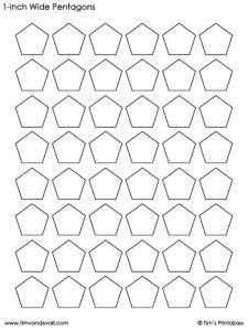 pentagon-templates-1-inch-wide