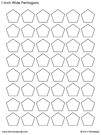 pentagon-templates-1-inch-wide
