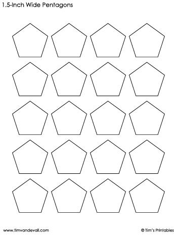 pentagon-templates-1.5-inch-wide