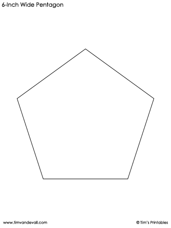 pentagon-templates-6-inch-wide