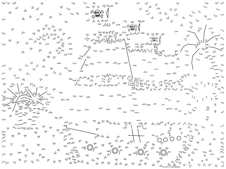 pirate ship-dot-to-dot