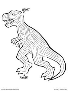 T. Rex Maze