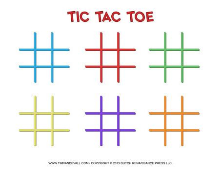 Tic-Tac-Toe-Templates