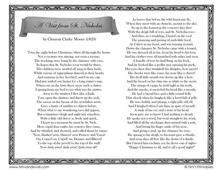 twas-the-night-before-christmas-poem-lyrics-black-and-white