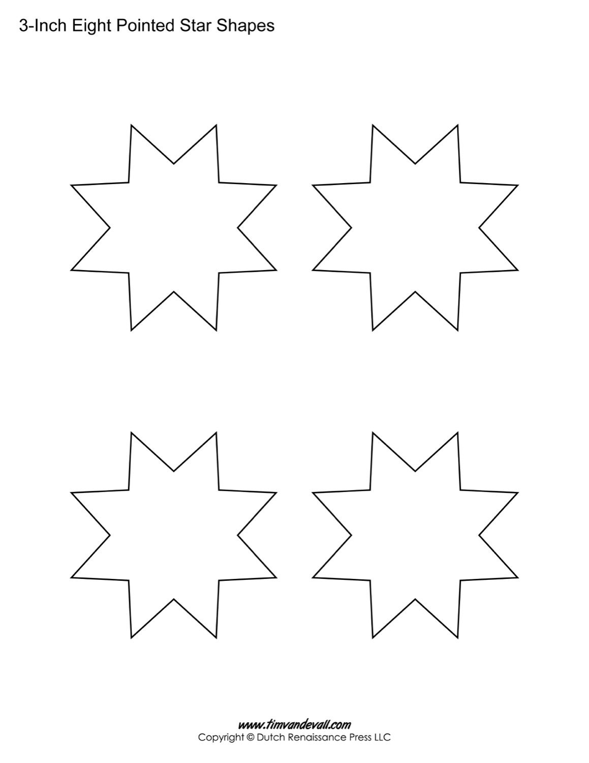 Eight Pointed Stars