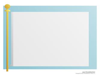 blank flag template printable make your own flag