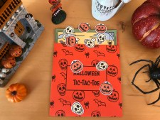 Printable Halloween Tic-Tac-Toe Activity