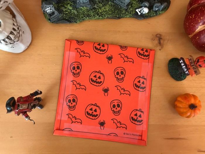 printable halloween game