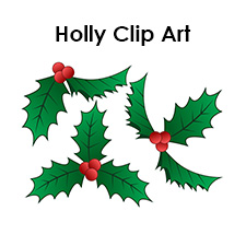 holly printables