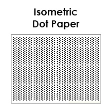 Printable Isometric Dot Paper PDF