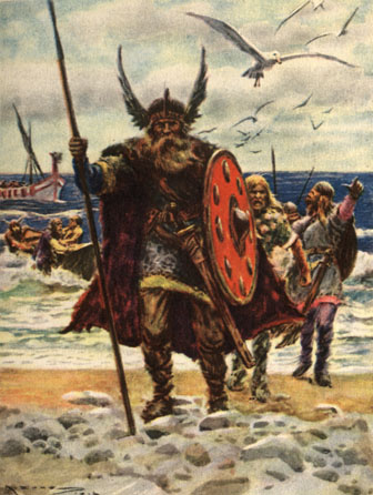 Landing of the Vikings