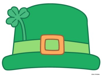 Leprechaun Hat Template