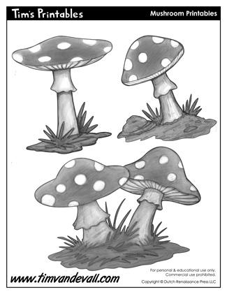 Mushroom Template