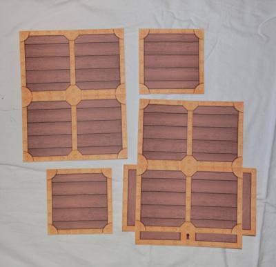 paper treasure chest craft