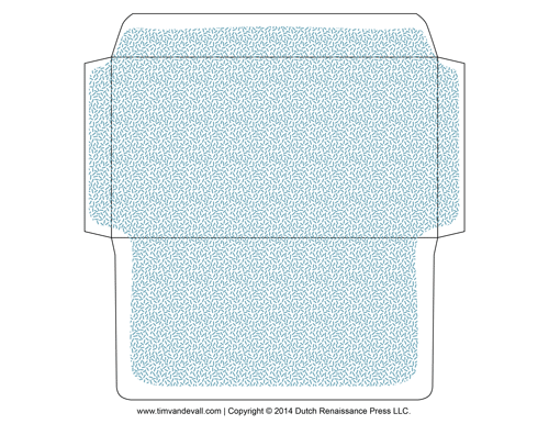 printable envelope template
