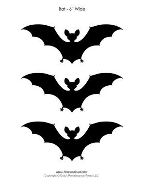 Printable Halloween Bats