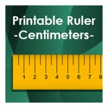 printable ruler centimeters