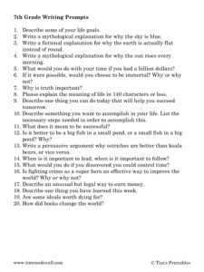 seventh-grade-writing-prompts