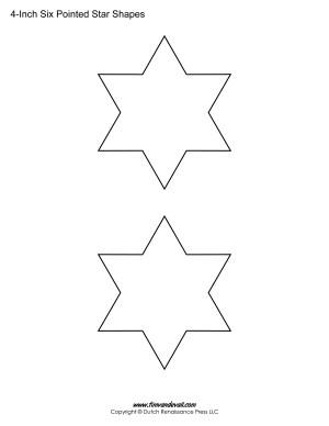 six sided stars
