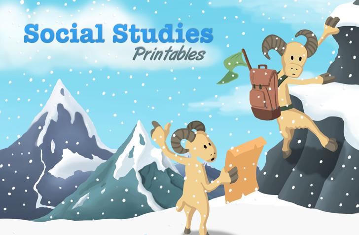 Social Studies Printables