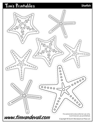 Starfish Templates