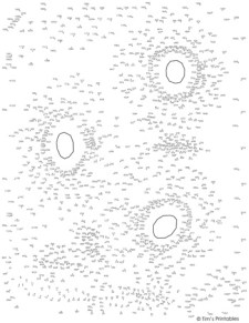Sunflower Extreme Dot-to-Dot PDF