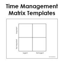 time management matrixa