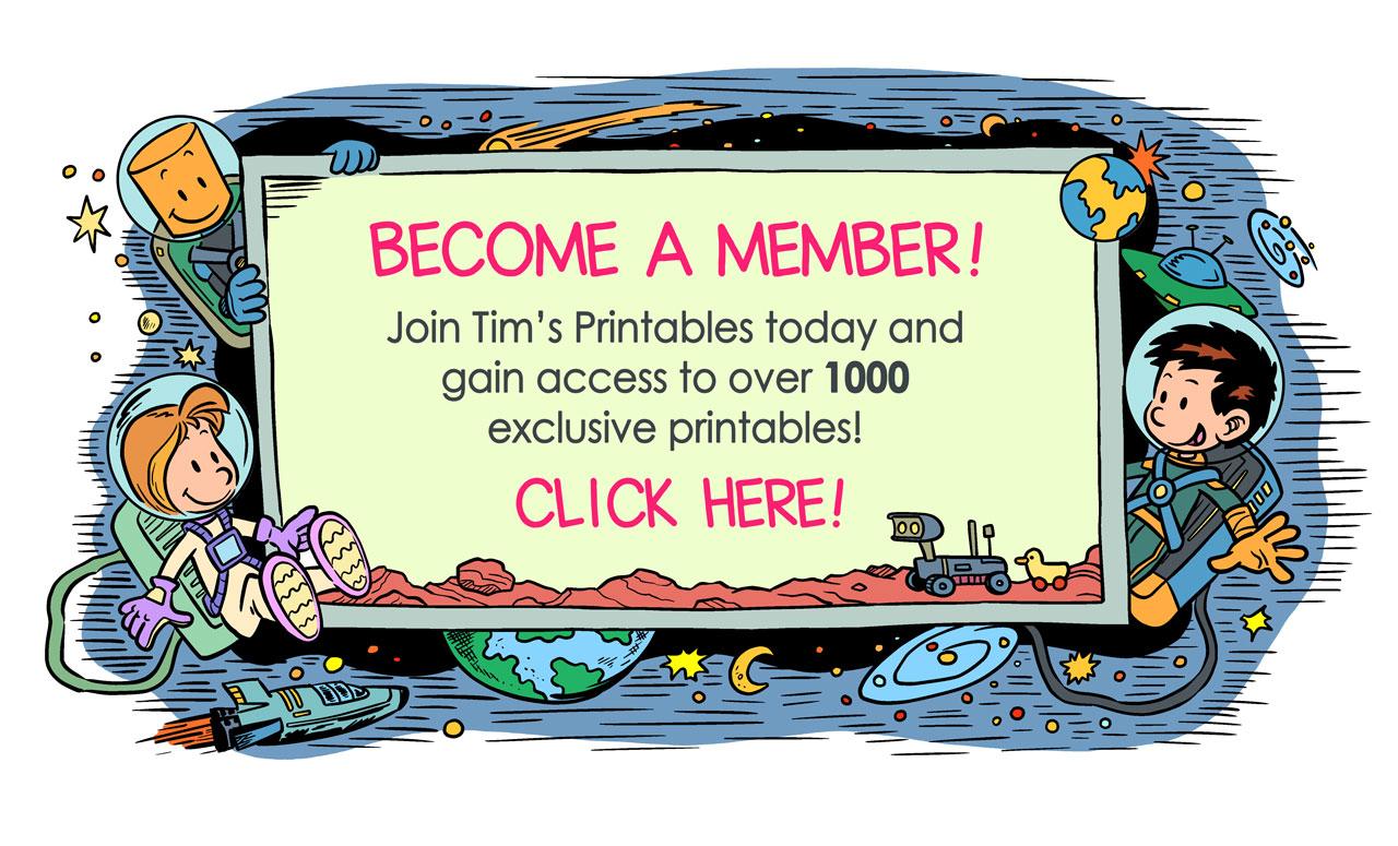 tim's printables membership