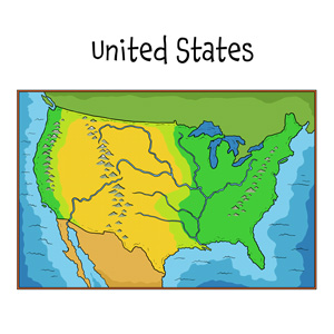blank united states map