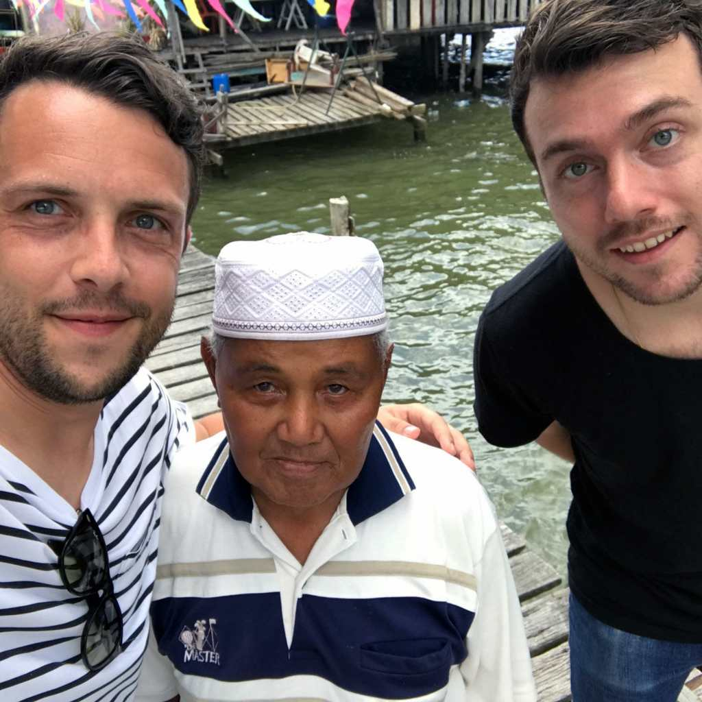 Brunei-Kampong-Old-Man
